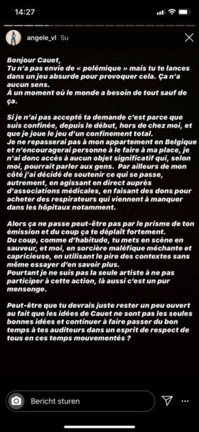 Franse radiopresentator zet Angèle voor schut, maar zij geeft hem meteen lik op stuk