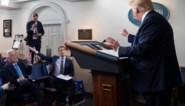 """Donald Trump haalt uit naar journalist tijdens persconferentie: """"Jij bent een slechte reporter"""""""