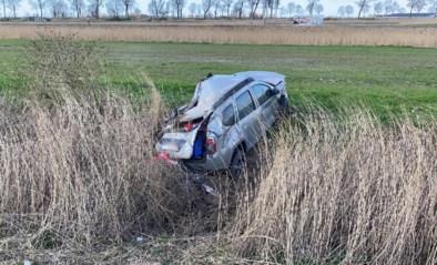Twee gewonden na crash op autosnelweg