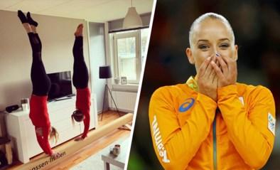 """Nederlandse topturnster laat vijf meter lange balk bezorgen in haar appartement op tweede verdieping: """"Wie had dat gedacht"""""""