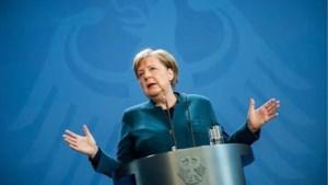 Angela Merkel in quarantaine