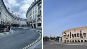 Van toeristische trekpleisters tot spooksteden: zo leeg zijn deze steden door het coronavirus