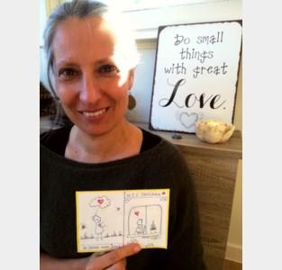 Gritta Maes gebruikt artistiek talent om rusthuisbewoners en hun familieleden te steunen