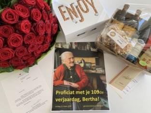 Geen bezoek van burgemeester voor 109de verjaardag van oudste inwoner, wel geschenkje aan de deur