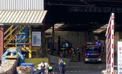 Beperkte brand bij recyclagebedrijf