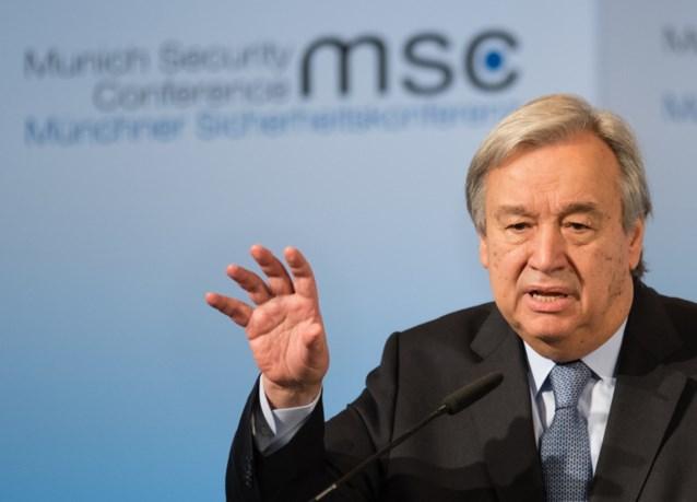 """VN-baas vraagt wereldwijde wapenstilstand: """"De meest kwetsbaren zullen de hoogste prijs betalen"""""""