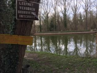 Niet meer vissen op Grand-Pontvijver