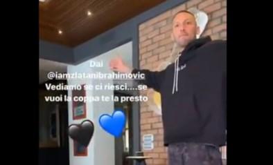 """Italiaanse cultheld drijft de spot met Zlatan Ibrahimovic: """"Eens zien of jij dit kan..."""""""