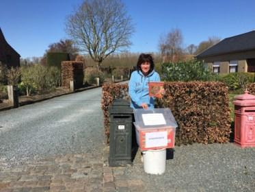 """Kleinste bibliotheek van Vlaanderen staat gewoon naast Gerda's brievenbus: """"Kinderen kunnen nu best wat afleiding gebruiken"""""""