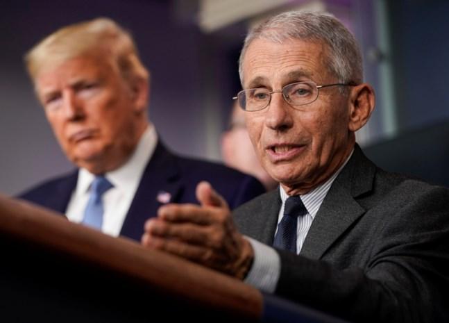 Trump botst met kritische dokter Fauci, de Marc Van Ranst va ...