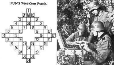 """De geschiedenis van de kruiswoordpuzzel: """"de doodsteek van elke sociale interactie"""", tot het een oorlog besliste"""