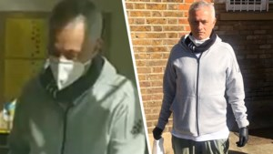 Tottenham-trainer José Mourinho draagt zijn steentje bij in volle coronacrisis