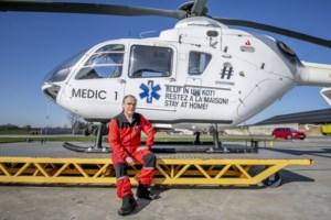 Als ziekenhuizen vol geraken en patiënten moeten worden overgebracht, staat Luc klaar: