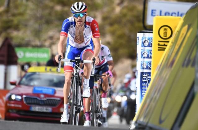 """Iedereen slooft zich uit maar Thibaut Pinot houdt niet echt van fietsen op rollen: """"Mijn record? Anderhalf uur"""""""