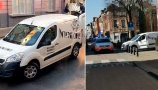 Bestelwagen voor thuisleveringen gestolen: dief zelfde dag gevat