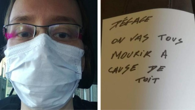 """""""Ga weg, we gaan allemaal sterven door jou"""": verpleegster krijgt dreigbrieven onder haar deur geschoven"""