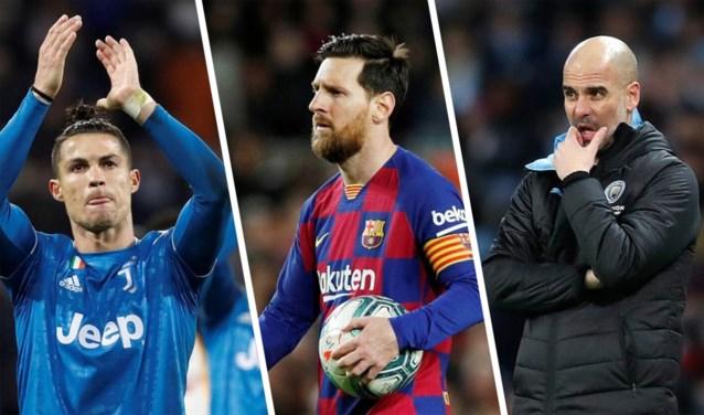 Lionel Messi, Cristiano Ronaldo en Pep Guardiola schenken elk 1 miljoen euro voor strijd tegen corona