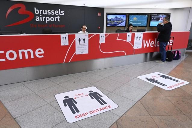 """Thuisquarantaine voor wie aankomt op luchthaven Zaventem via """"informatieblad"""", ook wie mensen ophaalt gevraagd binnen te blijven"""