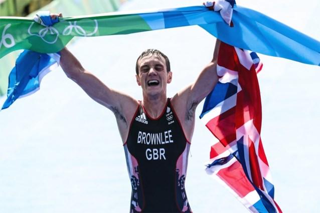 Tweevoudig olympisch kampioen triatlon Alistair Brownlee verlengt zijn carrière op de sprint