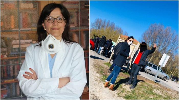 """Arts Stephanie (46) helpt ook vluchtelingen in Duinkerke: """"Probeer op een vuilnisbelt maar eens de voorgeschreven regels rond hygiëne te volgen"""""""