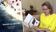 """Koningin Mathilde leest voor en roept op een coronadagboek bij te houden: """"Om over een paar jaar opnieuw te lezen"""""""