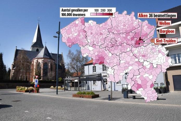 De 'meest hartelijke provincie' is de 'meest besmette provincie' geworden: nergens meer corona dan in Limburg
