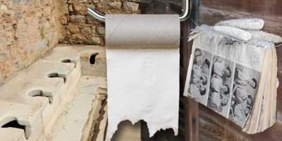 Geen wc-rol meer te vinden, maar hoe lang vegen we al: de geschiedenis van 'het kostbaarste papier op de planeet'