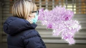 Voor eerst verdeling van besmettingen per gemeente: Limburg blijft zwaarst getroffen