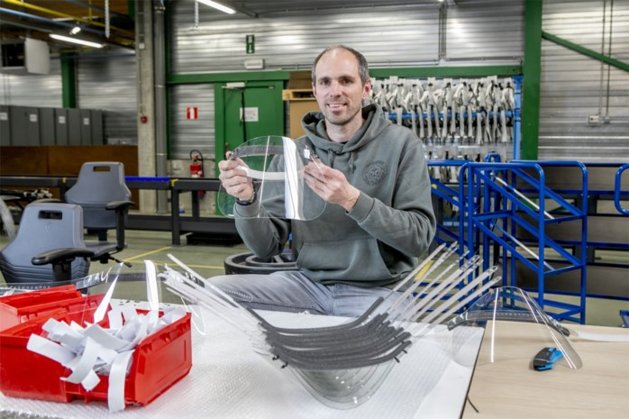 Antwerpse bedrijven bundelen krachten en willen gratis 50.000 spatmaskers maken voor zorgsector