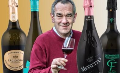 Iedereen aan de prosecco: onze wijnkenner Alain Bloeykens steekt de Italianen een hart onder de riem en proeft vier flessen schuimwijn