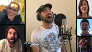 Familie-cast maakt nieuwe versie van begingeneriek vanuit hun 'kot'