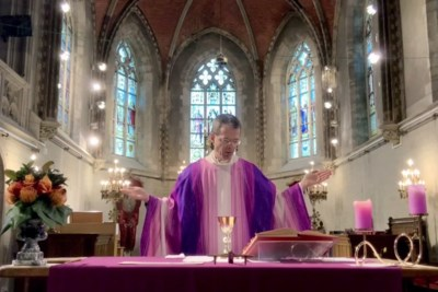 Eucharistieviering online tot einde van quarantaine