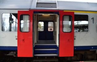 Ingedommelde treinreiziger slaat conducteur
