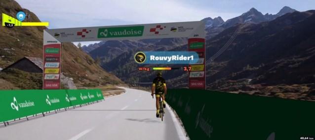 Zo kan er toch gekoerst worden: Ronde van Zwitserland komt met primeur en laat profs virtuele koers rijden