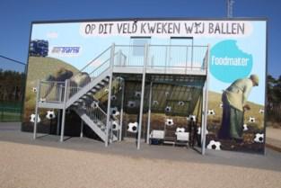 Gevel voetbalclub gepimpt met tekening van Jeroom