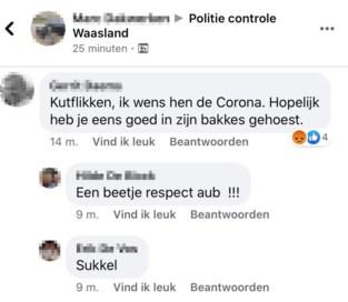 """Ook op Facebook krijgt politie het zwaar te verduren door coronamaatregelen: """"Ja, wij kunnen hier een pv voor opstellen"""""""