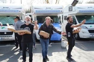 Gent brengt soep, bier en wijn naar Argentijnen in 'viaduct-quarantaine'