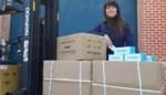 """Onderneemster Sieglinde haalt 460.000 mondmaskers naar België: """"Het vergde wel wat elleboogwerk"""""""