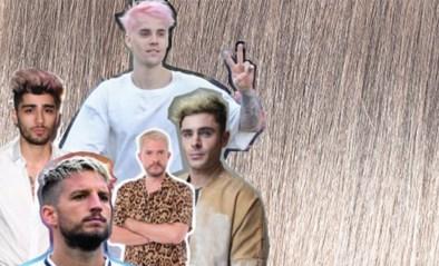 De haartrend voor heren: witter dan wit