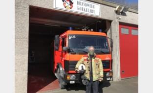 """Kapitein Dries (50): """"Afstand houden is niet mogelijk als je samengepakt zit op weg naar een brand"""