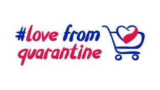 """Love from Quarantine: """"Acties van handelaars in de kijker zetten"""""""