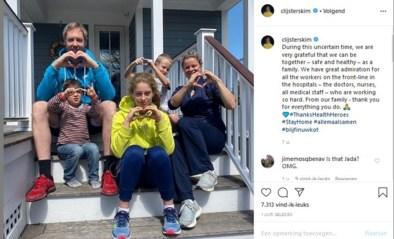 """Kim Clijsters in Amerika: """"Goed dat we in deze tijden bij elkaar kunnen zijn"""""""