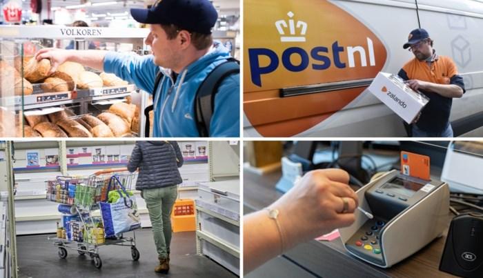 Hoe besmettelijk is mijn brood, mijn krant, een postpakket, een appel uit de bak of de winkelkar?