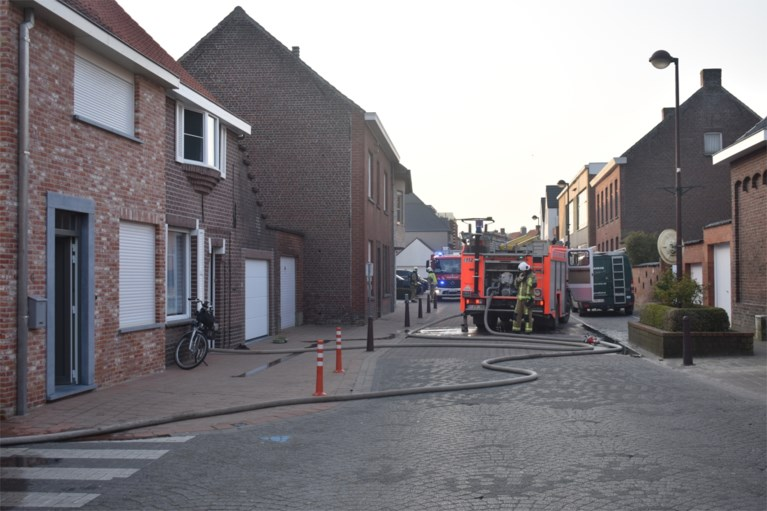 Stookruimte vernield door brand in Hooglede
