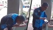 Walgelijk: pakjesbezorger gefilmd wanneer hij spuugt op bestelling, Amazon start onderzoek