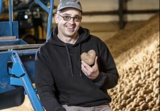 Daar is hij weer: de aardappel van Michel Hendrickx