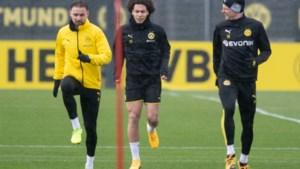 """Belgen van Dortmund hervatten de trainingen (in kleine groepjes): """"Het is belangrijk dat we opnieuw op het veld staan"""""""