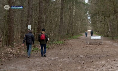 Opvallend minder wandelaars op de Kalmthoutse Heide