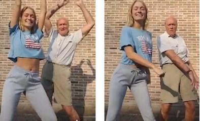 Jacques en Julie Vermeire vervelen zich allesbehalve in quarantaine en maken nieuw dansje