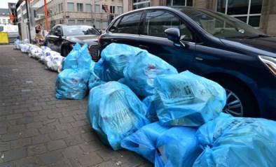 Net Brussel moet ophaalrondes van blauwe zakken volledig schrappen